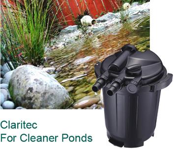 Pond Scene with ClariTec Filter